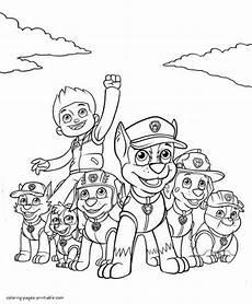 Paw Patrol Malvorlagen Pdf Paw Patrol Coloring Pages Printable 30 Print Color Craft