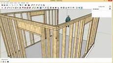 Framing Garage Walls by Framing Exterior Wall Corners Requested Sketchup