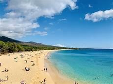 big der traumhafte strand auf in hawaii
