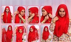 Cara Memakai Jilbab Pashmina April Model Cantik