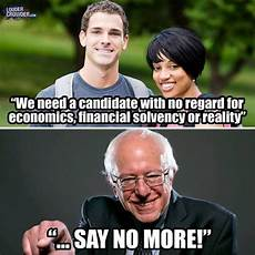 hilarious meme shows just how stupid bernie sanders fans are