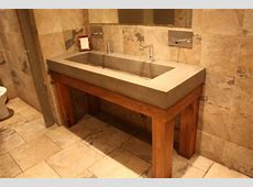 Bathroom: Fabulous Trough Sink For Bathroom And Kitchen