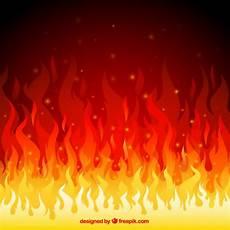 feuer flammen hintergrund der premium vektor