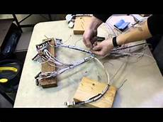Organizing A Wire Harness For A Cessna 182