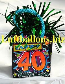 dekoration 40 geburtstag geburtstag dekoration ballongewicht zum 40 geburtstag lu