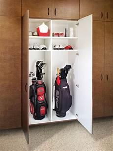 Garage Storage Ideas For Golf Clubs by Golf Club Storage Storage Garage Garage Organization