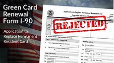 top 5 reasons why green card renewal applications are rejected