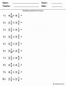 mixed fraction worksheets for grade 6 4256 fractions worksheets printable fractions worksheets for teachers blah fractions worksheets
