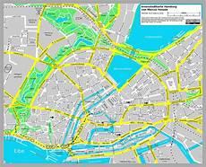 Malvorlagen Zum Drucken Hamburg Stadtplan Hamburg Detaillierte Gedruckte Karten