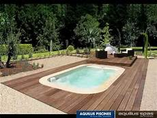 mini pool terrasse mini water plancher escamotable by aquilus piscine