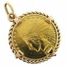 bijoux d occasion oroccaz pendentif porte pi 232 ce 10 dollars