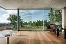 rahmenlose fenster stufenglas ermoeglicht rahmenlosen schiebet 252 ren sky frame terrassent 252 r panovid
