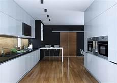 zweizeilige küche modern k 252 chenliebhaber de
