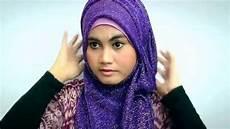 Muslim World Tutorial With Glitter Shawl For