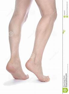 Legs And Isolated White Stock Image