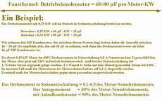 30 1 phasen motor mit kondensator schaltbild www
