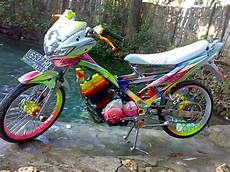 Modifikasi Motor Satria Fu 150 by Gambar Modifikasi Drag Bike Motor Satria Fu Drag 150 Terbaru