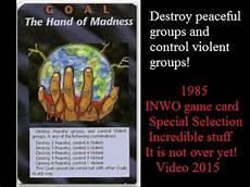 nwo illuminati quot illuminati new world order quot 1985 top cards to