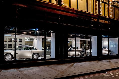 Go Window Shopping For Aston Martins At Harrods