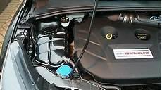 ford focus mk3 engine bay carbon effect set coolant