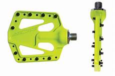 product test azonic flat iron pedals mountain bike