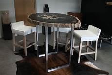 Holzstamm Tisch Design Als M 246 Belst 252 Ck F 252 R Die Wohnung