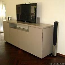 Sideboard Mit Versenkbarem Fernseher Media Center