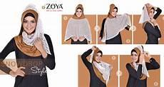 Tutorial Zoya Pashmina Ragam Muslim