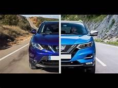 New 2017 Nissan Qashqai Facelift Vs Nissan Qashqai