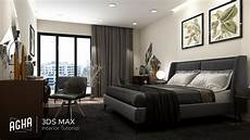 3ds max 2018 bedroom interior tutorial modeling design