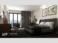 3Ds Max 2018 Bedroom Interior Tutorial Modeling Design