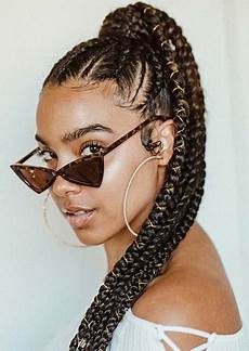 43 best braided ponytail hairstyles for 2019 stayglam