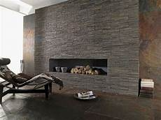 steinwand wohnzimmer grau fireplaces ideas for contemporary living rooms