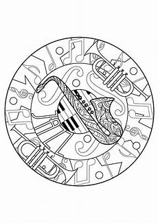 Mandala Malvorlagen Musik Mandalas 27332 Mandalas Malbuch Fur Erwachsene