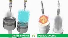 Petrol Gasoline Engine Vs Diesel Engine