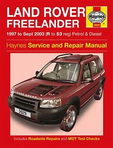 old car repair manuals 2003 land rover freelander on board diagnostic system haynes workshop repair owners manual land rover freelander