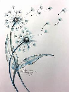 items similar to watercolor dandelions limited edition