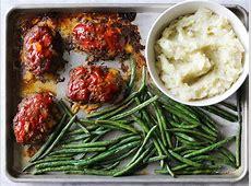 One Pan Meatloaf Dinner image