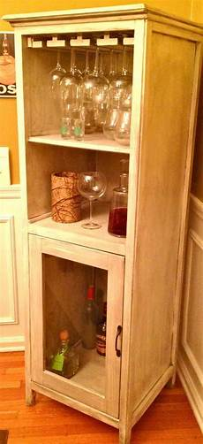 white liquor cabinet from benchmark storage media