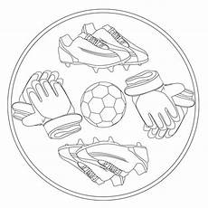 Malvorlage Mandala Fussball Fu 223 Mandala 1 F 252 R Kindergarten Kita Und Schule