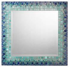 Bathroom Mirrors Mosaic by Mosaic Mirror Blue Teal Handmade 18