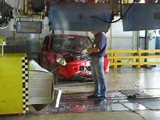 Dacia Sandero Crash Test With Aftermath