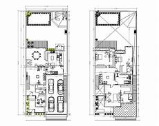 house plan dwg two storey house plan cad drawing cadblocksfree cad