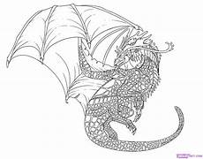 how to draw a cool dragon step by step dragons draw a dragon fantasy free online drawing
