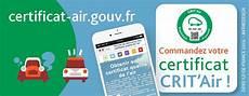 Cr 233 Ation D Un Visuel Pour Crit Air Le Certificat De La