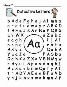 letter detective worksheets free 23066 detective letters by suzi teachers pay teachers