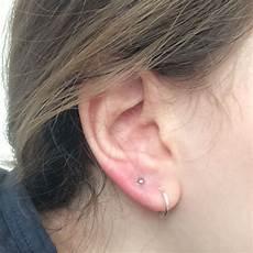 piercings am ohr zweites ohrl 228 ppchen piercing angeschwollen ohr