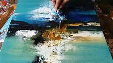 abstract painting demonstration of abstract painting in