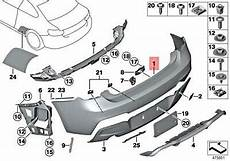 genuine bmw m2 f87 competition coupe panel bumper primed rear 51128079560 ebay