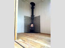 Small Wood Burning Stove Installation Farnham, Surrey